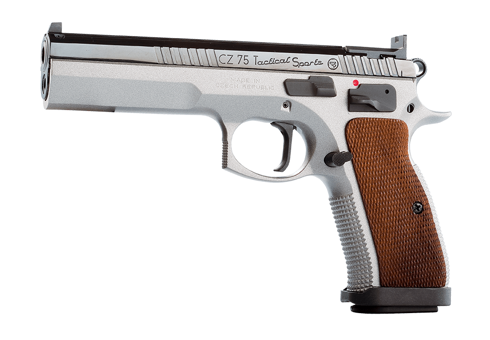 CZ 75 TACTICAL SPORT 9MM 130MM, 2 S/MAGS 10 RND