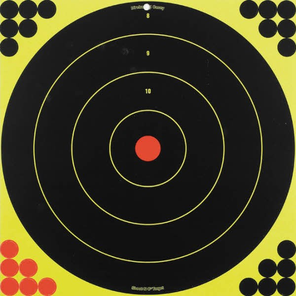 "Birchwood Casey Shoot-N-C 17.25"" Bullseye Targets Pack of 5"