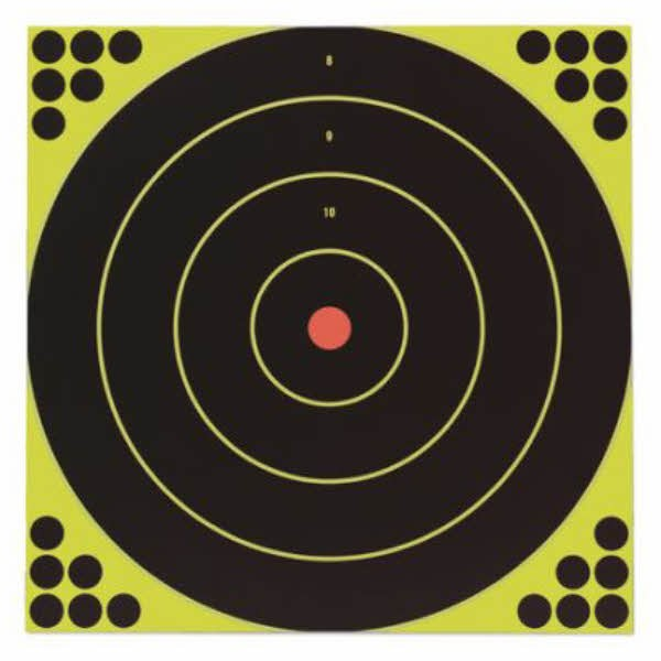"Birchwood Casey Shoot-N-C 3"" Bullseye Targets Pack of 60"
