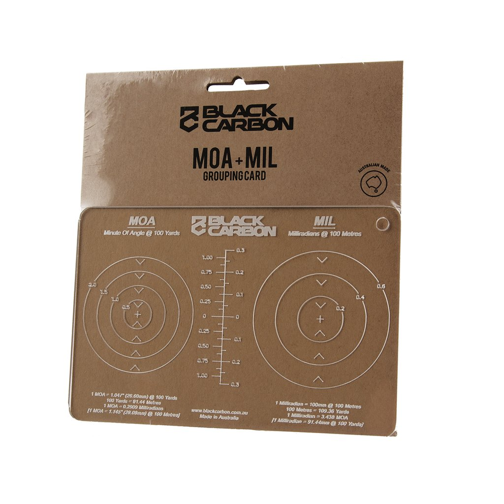 MOA and MIL Grouping Card