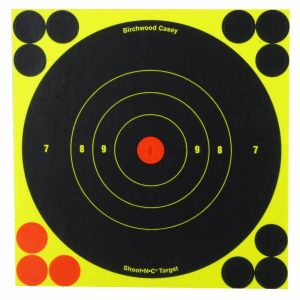 "Birchwood Casey Shoot-N-C 6"" Bullseye Targets Pack of 6"