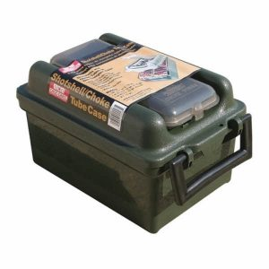 MTM 100 Rd Shotshell Choke Tube Case Forest Green
