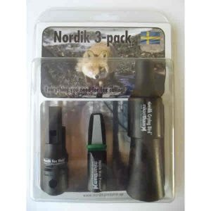 Nordik Fox callers 3 pack